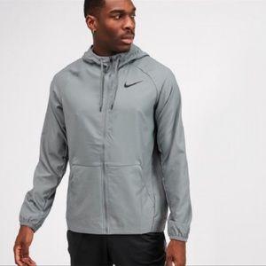 Nike Flex Full Zip Training Hoodie | Gray